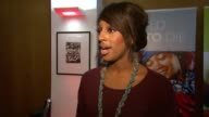 Alexandra Burke on the charity visiting Haiti donating charity work at the No Child Born to Die Launch at London England
