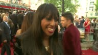 Alexandra Burke on which character she is told she's most like Carrie On watching the first film then the series then the first film again and now...