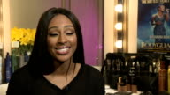 Alexandra Burke to go on tour as lead in the stage production of the Bodyguard Alexandra Burke interview SOT