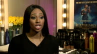 Alexandra Burke to go on tour as lead in the stage production of the Bodyguard Burke interview SOT