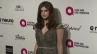 Alexandra Daddario at the 23rd Annual Elton John AIDS Foundation Academy Awards Viewing Party Sponsored By Chopard Neuro Drinks And Wells Fargo on...