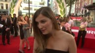 INTERVIEW Alexandra Maria Lara on her role in th at Odeon West End on September 02 2013 in London England