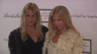 Alexandra Richards and Theodora Richards at the 2010 Tribeca Ball Benefiting The New York Academy of Art at New York NY