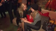 Alexandra Richards and Theodora Richards at the MCM and Patricia Field Celebrate Limited Edition Collaboration Launch at New York NY