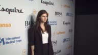 Alexandria Daddario at the Esquire Celebrates The Grand Opening Of Esquire House LA With International Medical Corps Benefit at Los Angeles CA