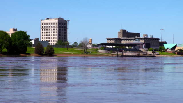 Alexandria Louisiana along the banks of the Red River