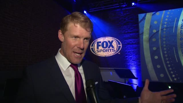 INTERVIEW – Alexi Lalas on why he is here tonight on what teams he wants to see on telling the story of Russia as host country on the emotional...