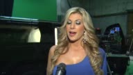 Alexis Bellino on the shoot the show and holidays at On Set With The Real Housewives Of NYE At The Ciroc Vodka Safe Ride PSA Shoot in Los Angles CA