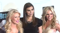 Alexis Bellino Vicki Gunvalson Gretchen Rossi Heather Dubrow and Tamra Barney at Bravo Media's 2012 Upfront Presentation at 548 West 22nd Street on...