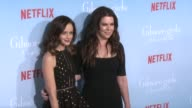 Alexis Bledel and Lauren Graham at the Premiere of Netflix's 'Gilmore Girls A Year In The Life' at Regency Bruin Theater on November 18 2016 in...