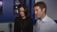 Alexis Bledel and Zach Gilford on memorable moments in movie on working with carol Burnett and on Friday night lights at the Alexis Bledel And Zach...
