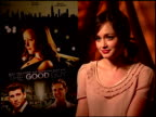 Alexis Bledel on what she learned from being part of this film at the 'The Good Guy' Junket at Los Angeles CA