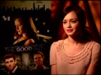 Alexis Bledel on working with first time writer/director Julio DePietro at the 'The Good Guy' Junket at Los Angeles CA