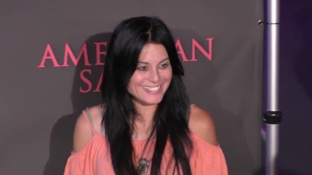 Alexis Iacono at 'American Satan' Premiere on October 12 2017 in Universal City California