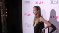 Alexis Knapp at the NYLON's Annual Young Hollywood May Issue Event With Cover Star Rowan Blanchard on May 02 2017 in Los Angeles California