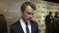 INTERVIEW Alfie Allen on the new series costars and the most powerful moments at 'Game of Thrones 5' World premiere on 18th March 2015 in London...