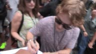 Alfie Allen Richard Madden Sophie Turner and Amrita Acharia greet fans in San Diego 07/13/12