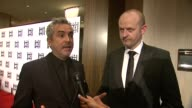 INTERVIEW Alfonso Cuaron Mark Sanger on the event and Gravity at 64th Annual ACE Eddie Awards in Los Angeles CA