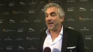 INTERVIEW Alfonso Cuaron on being a part of the afternoon what BAFTA's support means to him at BAFTA LA 2014 Awards Season Tea Party at Four Seasons...