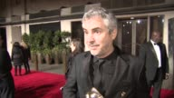 INTERVIEW Alfonso Cuaron on his win and being part of the British film industry at BAFTA After Party at on February 16 2014 in London England