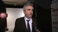 INTERVIEW Alfonso Cuaron on if they were surprised to win tonight at 71st Annual Golden Globe Awards Backstage at The Beverly Hilton Hotel on in...