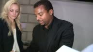 Alfonso Ribeiro greets fans at DWTS All Star Final After Party at Boulevard3 in Hollywood 11/27/12