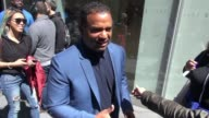 Alfonso Ribeiro leaving SiriusXM Satellite Radio responds to 'Live with Kelly Michael' show controversy Celebrity Sightings on April 20 2016 in New...