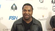 Alfonso Ribeiro on being a part of the night his strategy how long he's been playing at the 8th Annual WPT Invitational at City of Commerce CA