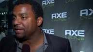 Alfonso Ribeiro on being in Miami at the 'Axe Lounge at LIV' Superbowl Weekend 2010 at Miami Beach FL