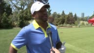 INTERVIEW Alfonso Ribeiro on being ready to hit the links after practicing his swing on why it's important to come out to support this cause on the...