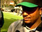 Alfonso Ribeiro signs autographs for fans and talks about the tournament