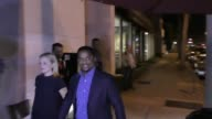INTERVIEW Alfonso Ribeiro talks about how he does not care about Donald Trump outside Craig's Restaurant in West Hollywood