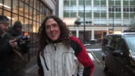 Alfred Matthew 'Weird Al' Yankovic visits Radio One to promote his first tour to the UK in decades SIGHTING Alfred Matthew 'Weird Al' Yankovic at BBC...