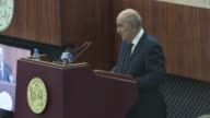 Algeria's new PM Abdelmajid Tebboune who was named on the 24th of May submitted Tuesday night to the National Popular Assembly his government's...
