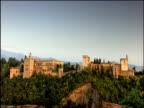 Alhambra fortification Granada Spain