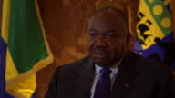 Ali Bongo Ondimba President of Gabon saying there are criminal cartels killing endangered Forest Elephants for ivory and they have turned many of the...