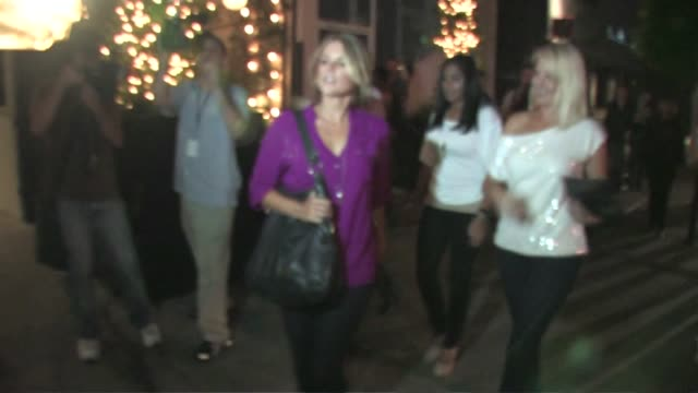 Ali Fedotowsky at STK in West Hollywood