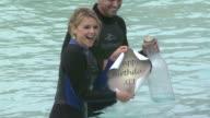 Ali Fedotowsky at the Ali Fedotowsky celebrates her 26th Birthday at SeaWorld at San Diego CA