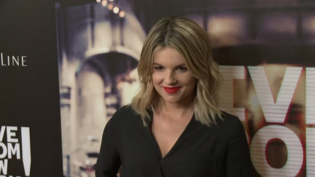 Ali Fedotowsky at the 'Live From New York' Los Angeles Premiere at Landmark Theatre on June 10 2015 in Los Angeles California