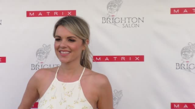 Ali Fedotowsky celebrates The Launch Of Matrix Biolage RAW at Brighton Salon in Beverly Hills in Celebrity Sightings in Los Angeles
