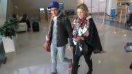 Ali Fedotowsky departing at LAX Airport in Los Angeles in Celebrity Sightings in Los Angeles