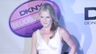 Ali Larter at the DKNY Delicious Night Fragrance Launch Party at 711 Greenwich Street in New York New York on November 7 2007