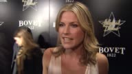 INTERVIEW Ali Larter on being at the event at the Hollywood Domino Bovet 1822 Gala Benefiting Artists For Peace And Justice on 2/21/13 in West...
