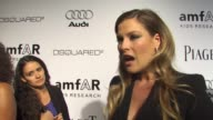 Ali Larter on who she's wearing being a part of the evening what she appreciates about the work that amfAR does what she's most looking forward to at...