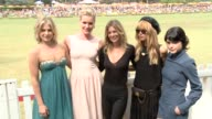Ali Larter Rebecca Romij Ellen Pompeo Selma Blair and Rachel Zoe at the Third Annual Veuve Clicquot Polo Classic Los Angeles at Will Rogers State...