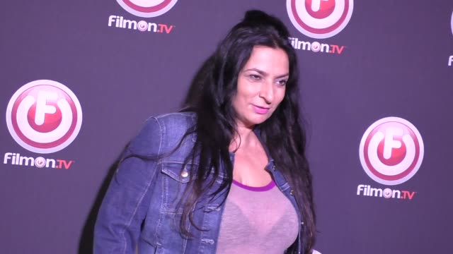 Alice Amter at the Bob Thunder Internet Assassin Premiere at Egyptian Theatre in Hollywood at Celebrity Sightings in Los Angeles on October 27 2015...