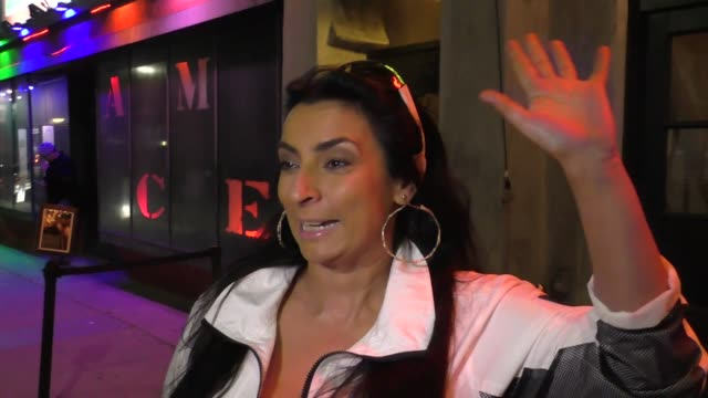 INTERVIEW Alice Amter talks about racial stereotypes outside Room 5 in Los Angeles in Celebrity Sightings in Los Angeles