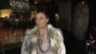 INTERVIEW Alice Amter talks fashion outside Katsuya Restaurant in Hollywood in Celebrity Sightings in Los Angeles