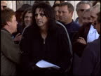Alice Cooper at the Dediction of Alice Cooper's Walk of Fame Star at the Hollywood Walk of Fame in Hollywood California on December 2 2003