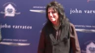 Alice Cooper at The John Varvatos 10th Annual Stuart House Benefit on 3/10/13 in Los Angeles CA